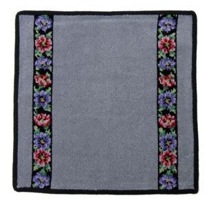 フェイラー アネモネ S グレー タオルハンカチ 30cm|nihonnotsurugi