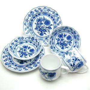 カールスバード ブルーオニオン (Carlsbad Blue Onion) モーニングカップルセット|nihonnotsurugi