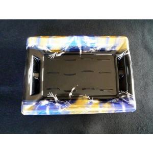彩皿30-20 ほたる青 本体と蓋セット 10入り|nihonpearl