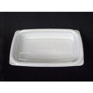 BF惣菜内 17 ホワイト 透明蓋セット 50入り|nihonpearl