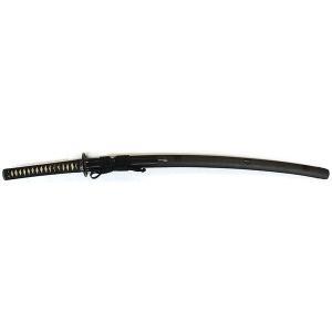 刀装具 日本刀  一分刻家紋散鞘拵え 鍔・刀装具