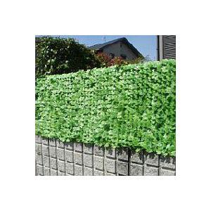グリーンフェンス 壁面緑化 目隠しグリーンフェイス(1m×3m) フェンスやベランダにつけて日除けスクリーン としても ヒートアイラン|nihontuuhan
