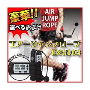 ★最大26倍+クーポン★ アルインコ エアージャンプロープ EXG103 専用マット付 部屋なわとび エアーなわとび エアー縄跳び エアなわとび ALINCO