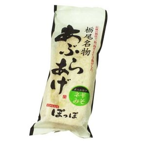 新潟B級グルメ 栃尾の油揚げ(冷凍)ネギみそ niigata-furusatowari