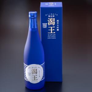 新潟ふるさと村限定商品  純米大吟醸 潟王720ml 酒米山田錦100% 華やかな吟醸香を醸す新潟県限定の新酵母を使用。お届けまで10日前後いただいております。|niigata-furusatowari