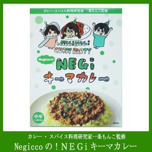 NegiccoのNEGIキーマカレー カレー・スパイス料理研究家一条もんこ監修 中辛  niigata-furusatowari
