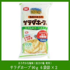 サラダホープ 新潟県内限定販売 塩味6袋(90g)×12袋(1ケース)|niigata-furusatowari
