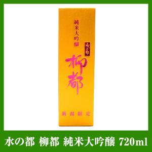 水の都 柳都 純米大吟醸 720ml|niigata-furusatowari