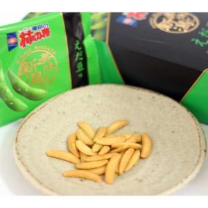 亀田の柿の種 えだ豆味 新潟限定品 新潟県でとれた、えだ豆のパウダー使用 80g|niigata-furusatowari|04
