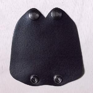ギターケース用本革製グリップ(ハンドル)カバー 黒 送料無料・代引不可|niigata-honmono