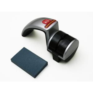 スエヒロ 片刃両刃包丁兼用ダイヤモンドロールシャープナー&消しゴムといし|niigata-honmono