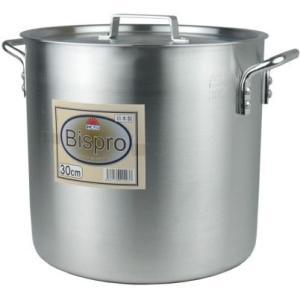 アルミ寸胴鍋Bispro 24cm 10L|niigata-kitchen