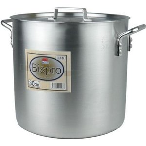 アルミ寸胴鍋Bispro 36cm 36L|niigata-kitchen