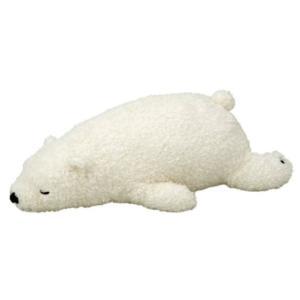 ねむねむ抱きまくら L シロクマのラッキー・クマのクッキー niigata-kitchen