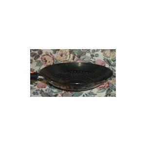 鉄 ヘラ絞り穴明北京鍋 25cm|niigata-kitchen