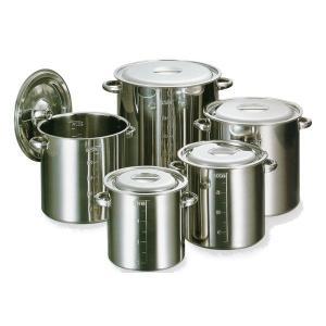 モリブデン目盛付寸胴鍋20cm(手有) 蓋付6.2L|niigata-kitchen