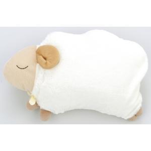 ほんやら堂 安眠おやすみ羊 お昼寝まくら オフホワイト AMR84759 niigata-kitchen