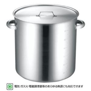仔犬印 IH対応19-0ステンレス寸胴鍋目盛付 蓋付28cm 長期欠品中H30/1/25まで|niigata-kitchen