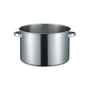 仔犬印 IH対応19-0ステンレス半寸胴鍋28cm ※長期欠品中|niigata-kitchen