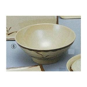 織部 うどん丼 メラミン OB-3|niigata-kitchen