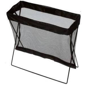 バッグレスト ブラック 地面設置型ナイロンケース|niigata-kitchen