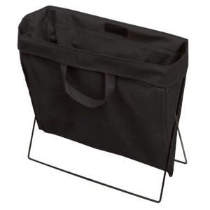 バッグレスト ブラック 地面設置型不織布ケース|niigata-kitchen