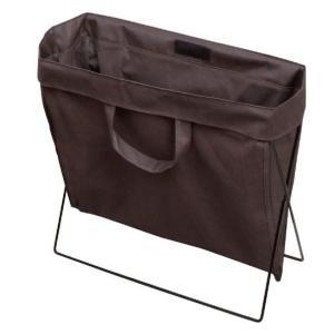 バッグレスト ブラウン 地面設置型不織布ケース|niigata-kitchen