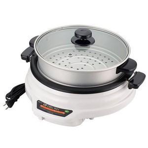27cm着脱グリルパン蒸し鍋付き SGP-27TM|niigata-kitchen