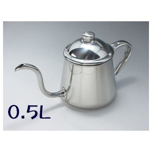 18-8 タカヒロ コーヒードリップポット 0.5L|niigata-kitchen