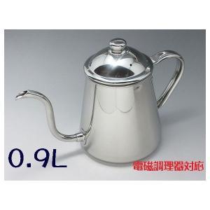 18-8 タカヒロ コーヒードリップポット 0.9L(電磁調理器対応)|niigata-kitchen