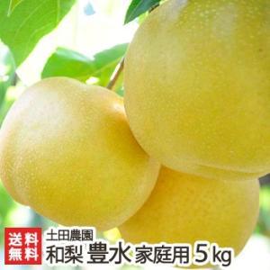 新潟産 梨 豊水 家庭用5kg 土田農園/送料無料|niigata-shop