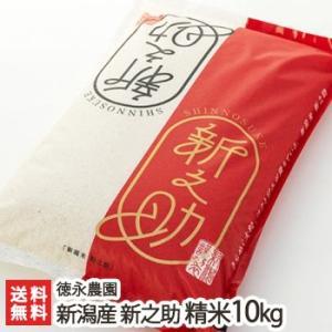 令和元年度新米 新潟産 新之助 精米 10kg 徳永農園/のし無料/送料無料|niigata-shop
