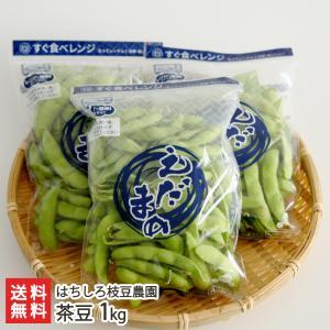 新潟県産 朝採り 茶豆 1kg(250g×4袋)/ギフト プレゼント お祝い 贈り物 のし無料 送料無料|niigata-shop