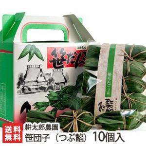 新潟農家の手作り笹団子(つぶあん)10個入 耕太郎農園/餅米/新潟産/後払い不可/送料無料|niigata-shop
