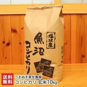 30年度米 南魚沼 塩沢産コシヒカリ 玄米10kg うおぬま倉友農園/お中元ギフト/のし無料/送料無料|niigata-shop