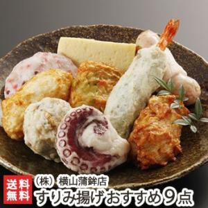 すりみ揚げ おすすめ9点盛り 横山蒲鉾/のし無料/送料無料|niigata-shop