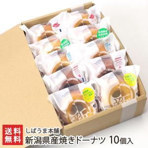 新潟産 焼きドーナツ 10個入り(洋なし、ストロベリー、ミルク、枝豆、スイートポテト※各2個)しばうま本舗/御歳暮にも!ギフトにも!/のし無料/送料無料|niigata-shop