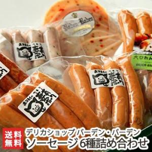 自家製ソーセージ 6種詰め合わせ デリカショップ バーデン・バーデン/のし無料/送料無料 niigata-shop