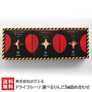 ドライフルーツ 選べるりんご3種詰め合わせ/残暑見舞い・敬老の日/のし無料/送料無料|niigata-shop