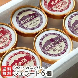 定番&男の酒ジェラート選べる6個セット Refeli〜れふぇり〜/のし無料/送料無料|niigata-shop