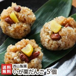 新潟長岡の老舗 西山製菓の郷土料理和菓子 いが栗だんご5個入/送料無料 niigata-shop