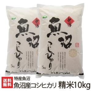 魚沼産 コシヒカリ 精米 10kg(5kg×2) 特産魚沼/ギフト・贈り物・内祝いにも!のし(熨斗)無料/送料無料|niigata-shop