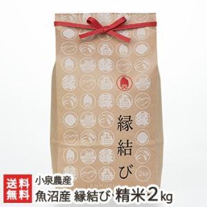 魚沼産 縁結び 精米2kg 小泉農産/残暑見舞い・敬老の日/のし無料/送料無料|niigata-shop