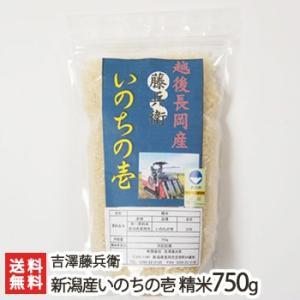 新潟産 いのちの壱 精米750g 有限会社 吉澤藤兵衛/ギフト/のし無料/送料無料|niigata-shop
