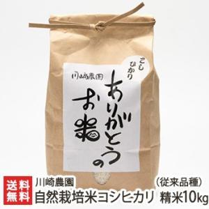 自然栽培米コシヒカリ(従来品種) 精米10kg 川崎農園/のし無料/送料無料|niigata-shop