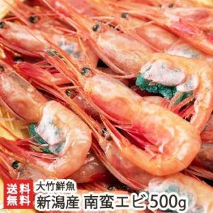 新潟産 南蛮海老 500g(250g×2パック)/大竹鮮魚/ギフトにも/のし無料/送料無料|niigata-shop
