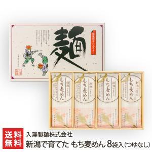 新潟で育てた もち麦めん 8袋入(つゆなし)/入澤製麺株式会社/のし無料/送料無料 niigata-shop