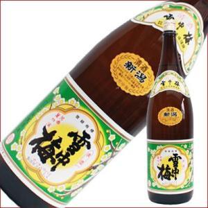 雪中梅 普通 1.8L 1800ml 日本酒|niigatameisyuoukoku