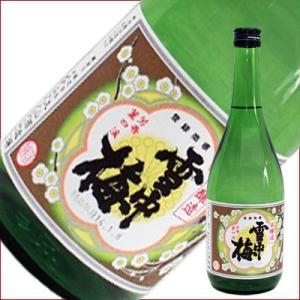 雪中梅 本醸造 720ml 日本酒