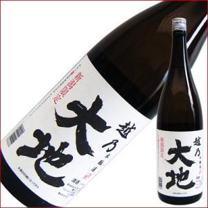 越乃大地 本醸造 1.8L 1800ml 日本酒|niigatameisyuoukoku